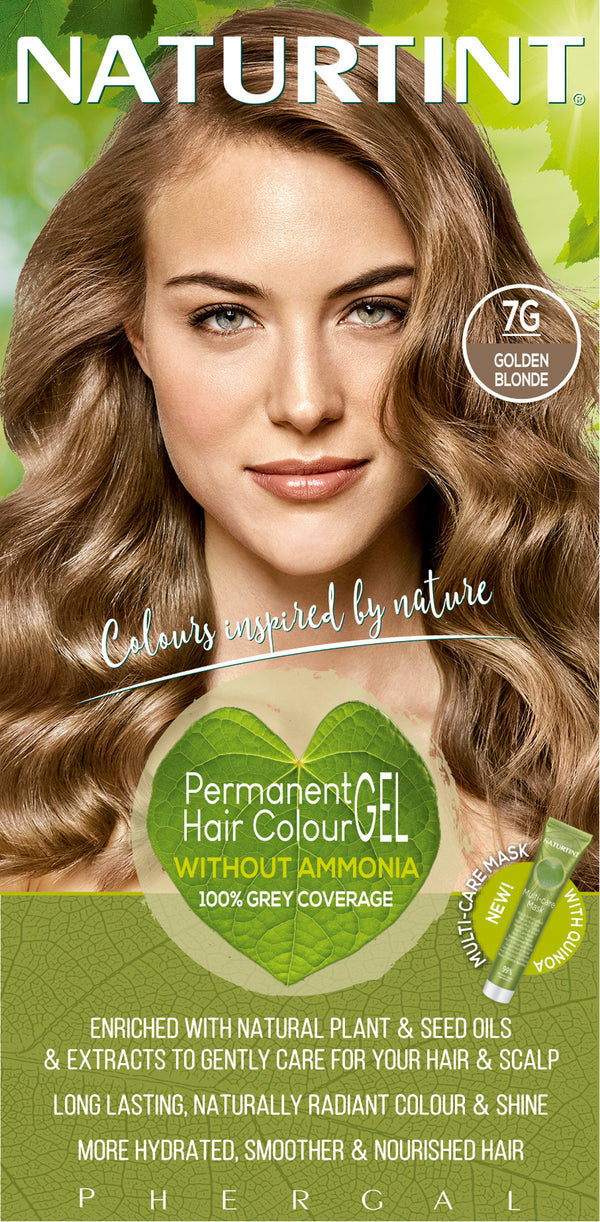 NATURTINT Naturally Better Permanent Hair Colour- Golden Blonde