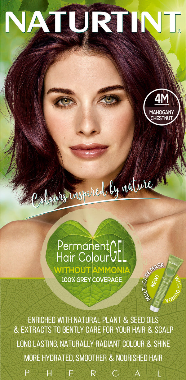 NATURTINT Naturally Better Permanent Hair Colour- Mahogany Chestnut