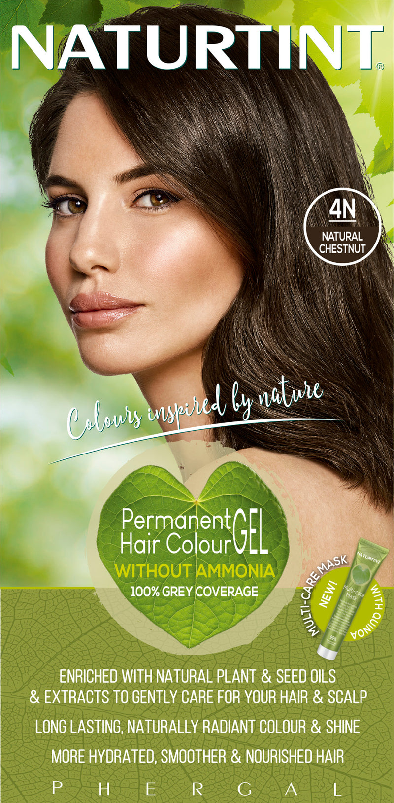NATURTINT Naturally Better Permanent Hair Colour- Natural Chestnut