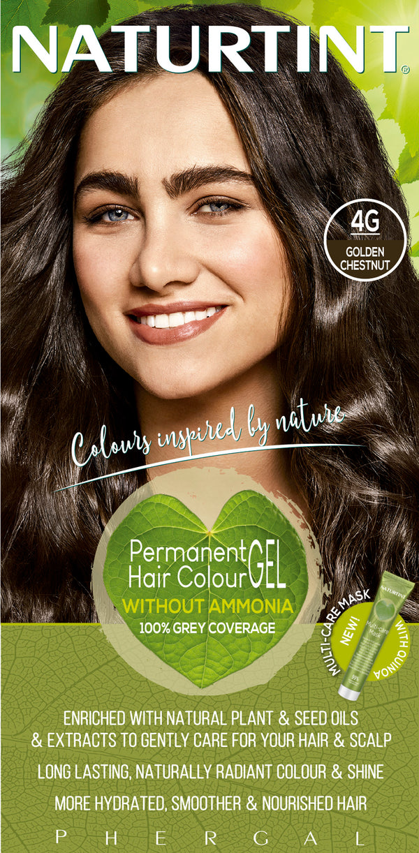 NATURTINT Naturally Better Permanent Hair Colour- Golden Chestnut