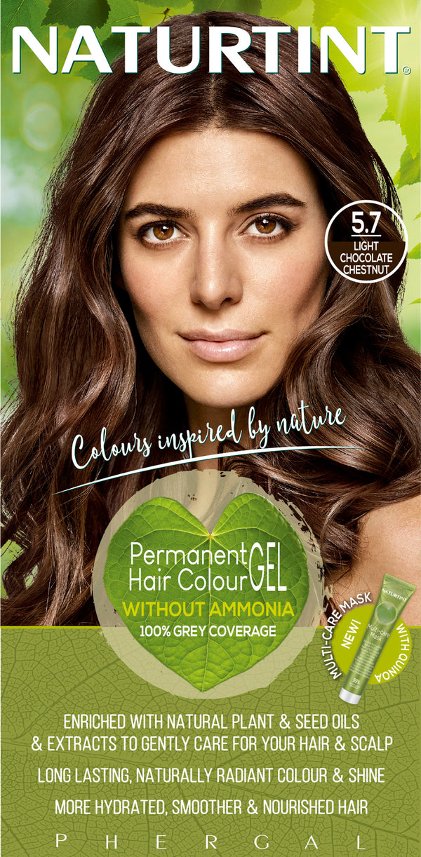 NATURTINT Naturally Better Permanent Hair Colour- Light Chocolate Chestnut