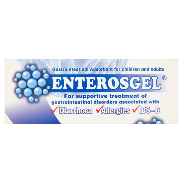 ENTEROSGEL Gastrointestinal Adsorbent for Children and Adults