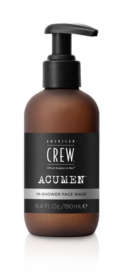 AMERICAN CREW ACUMEN In-Shower Face Wash