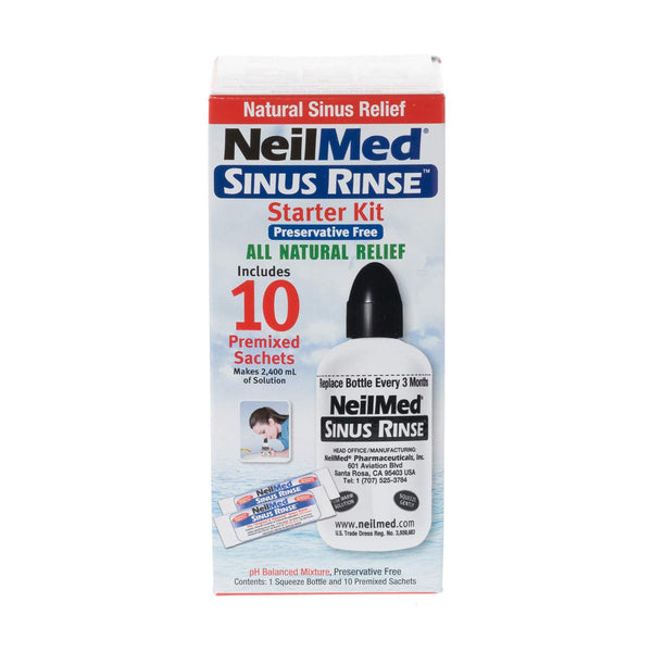 NEILMED Adult Sinus Rinse Starter Kit