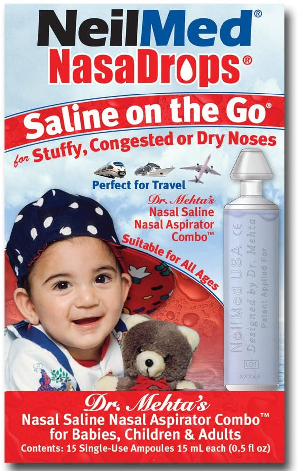NEILMED NasaDrops - Saline On The Go