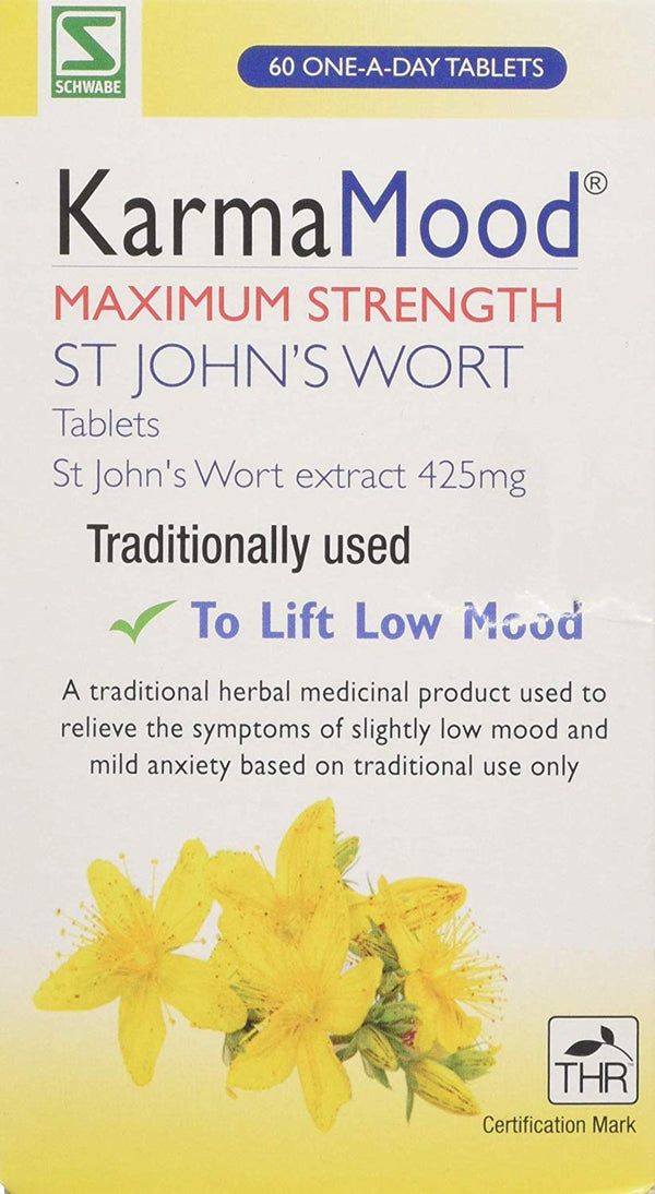 Maximum Strength St John`s Wort Extract 425mg