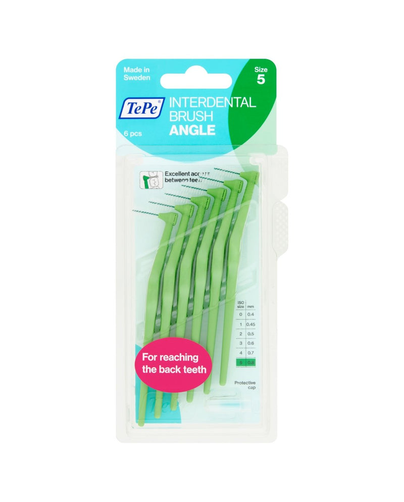 Interdental Brush Angle