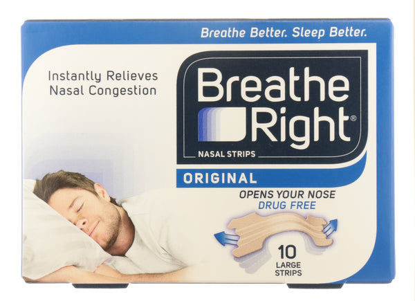 BREATH RIGHT Clear Nasal Strips