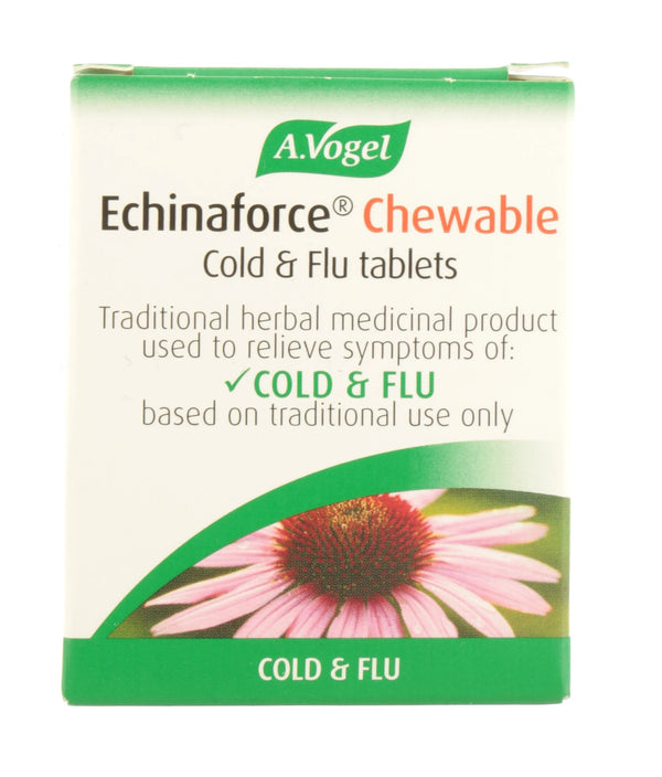 A. VOGEL Echinaforce Chewable Cold & Flu Tablets