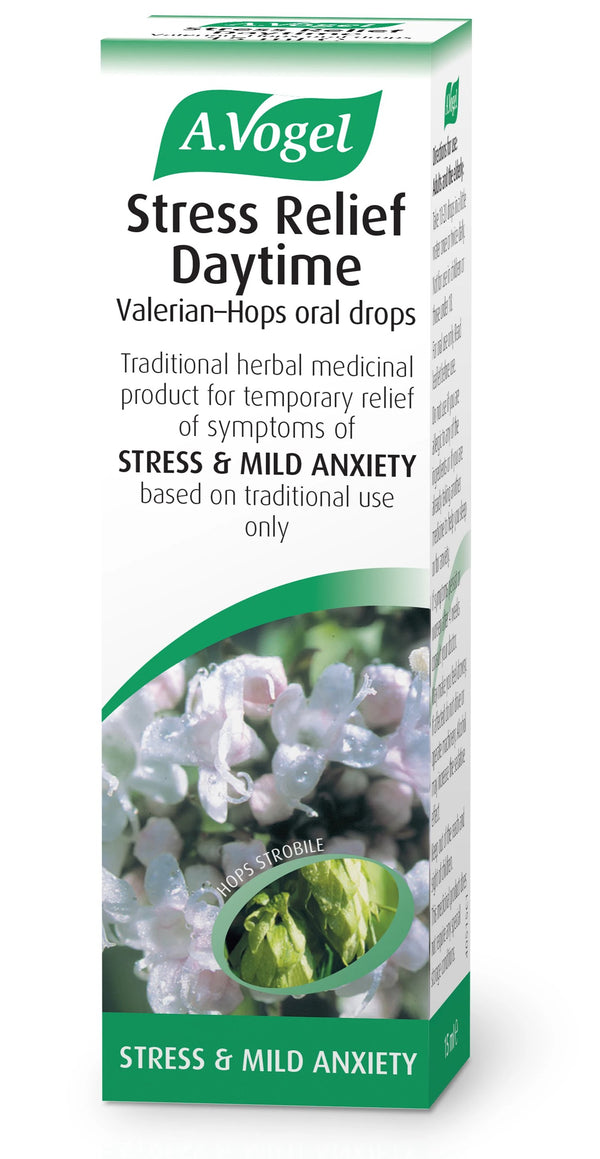 Stress Relief Daytime Valerian-Hops Drops
