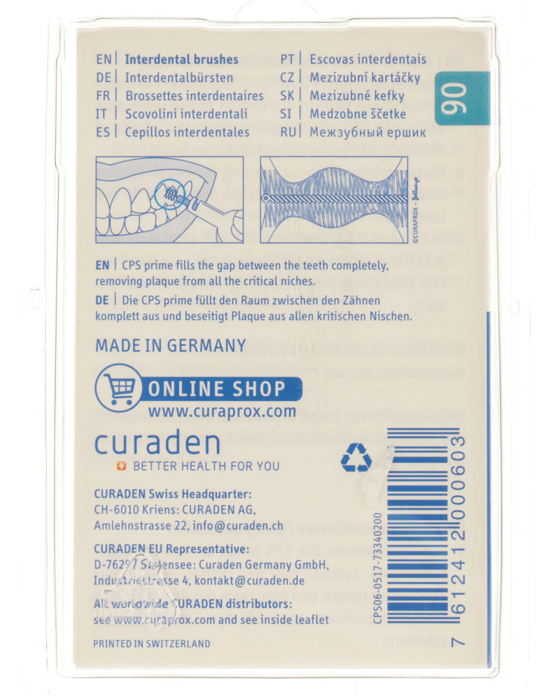 CPS Prime Interdental Brush 06 - Turquoise