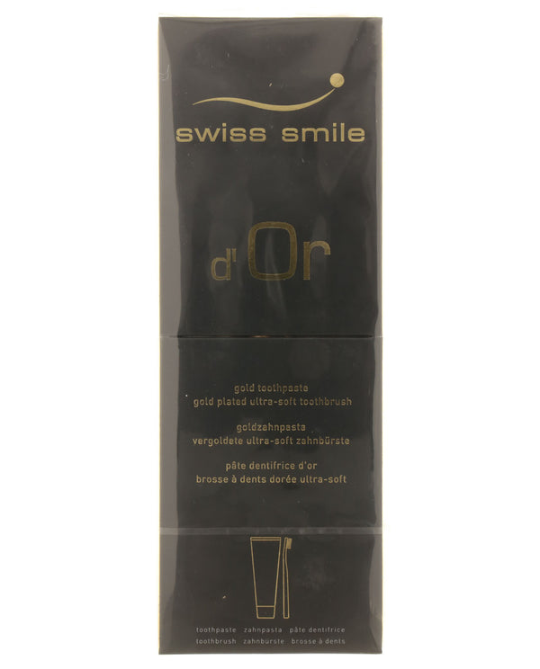 SWISS SMILE d'Or Gold Toothpaste
