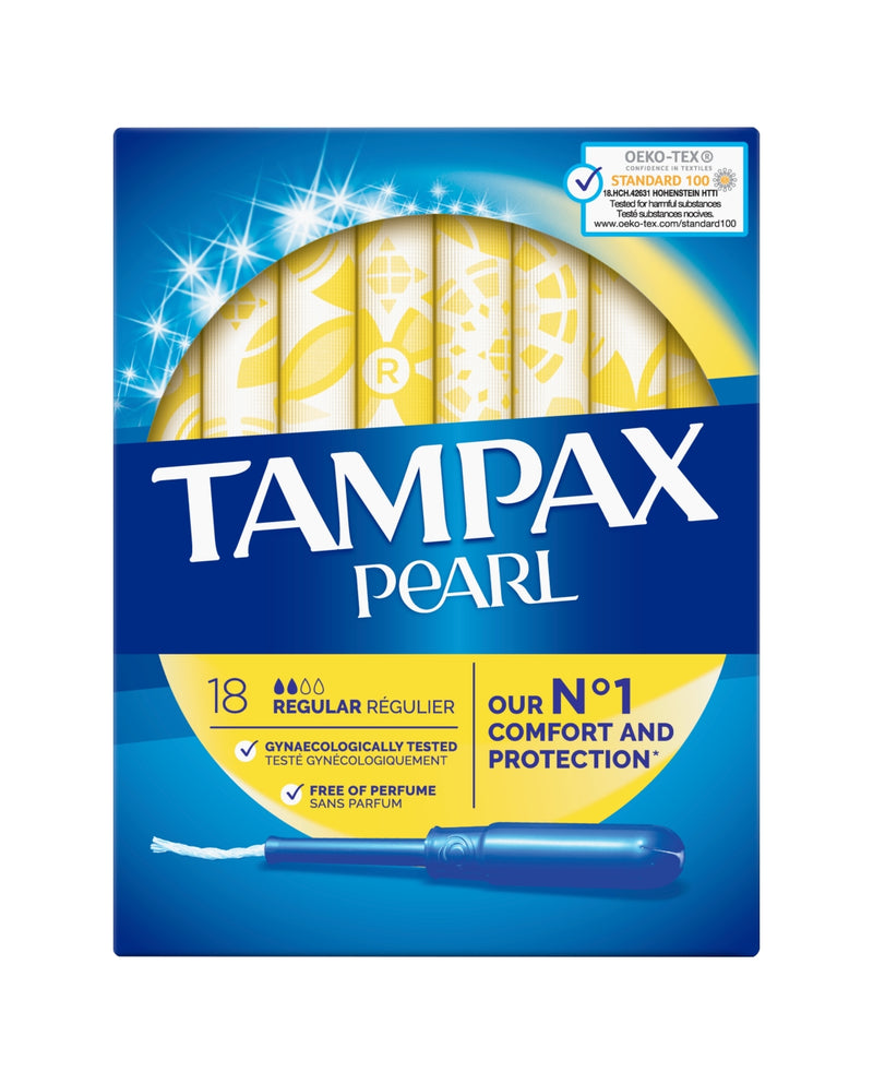 Pearl Regular Tampons