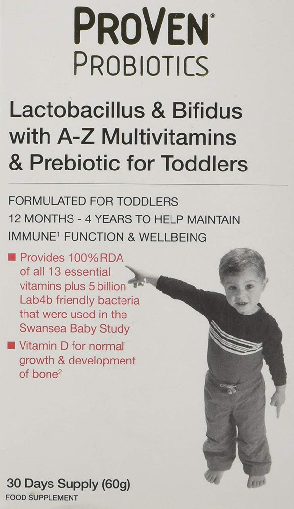 Probiotics for Toddlers 30 Days Supply 60g