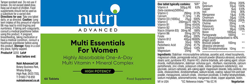 Pregnancy Multi Essentials Multivitamin