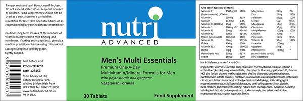 Multi Essentials for Men Multivitamin