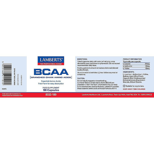 BCAA (Branch Chain Amino Acids)