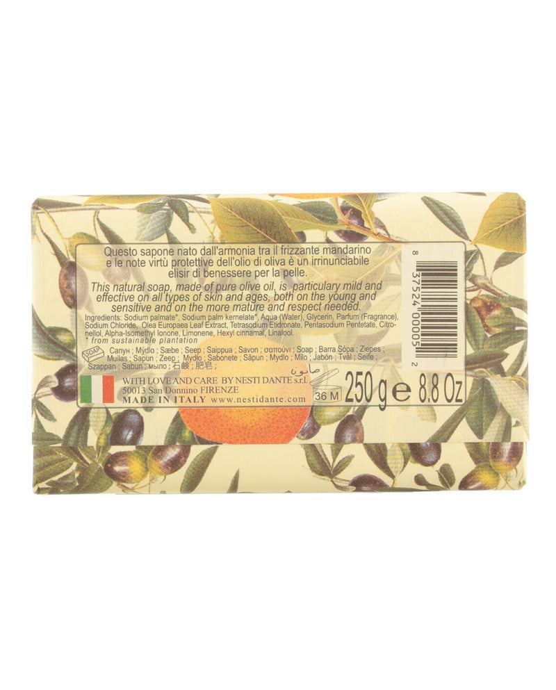 Il Frutteto Olive Oil and Tangerine Soap