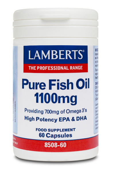 LAMBERTS Pure Fish Oil 1100Mg