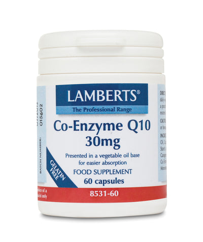 LAMBERTS Co-Enzyme Q 10 30mg