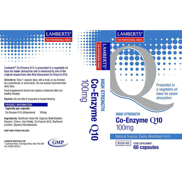 Co Enzyme Q 10 100Mg