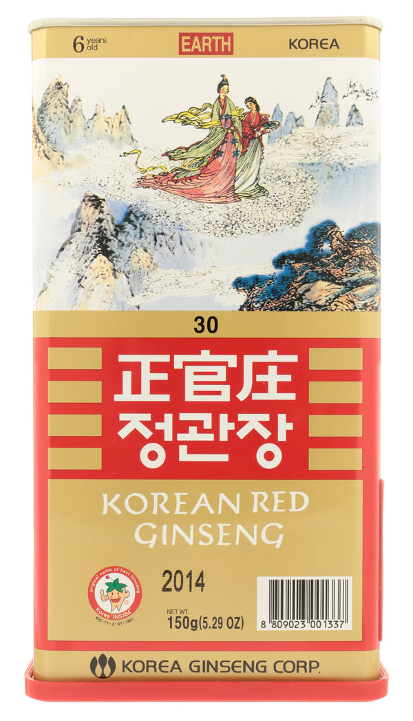 KOREAN RED GINSENG Whole Root Earth Grade