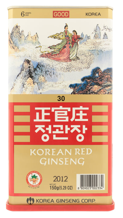KOREAN RED GINSENG Whole Root Good Grade