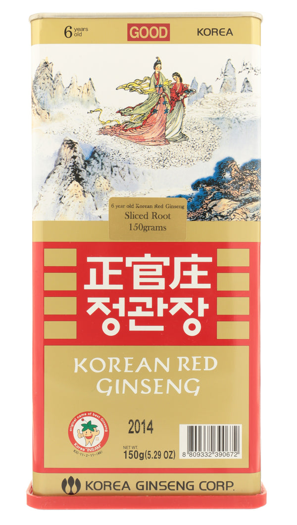 KOREAN RED GINSENG Sliced Root Good Grade