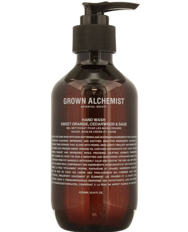 GROWN ALCHEMIST Grown Alchemist Hand Wash: Sweet Orange, Cedarwood, Sage
