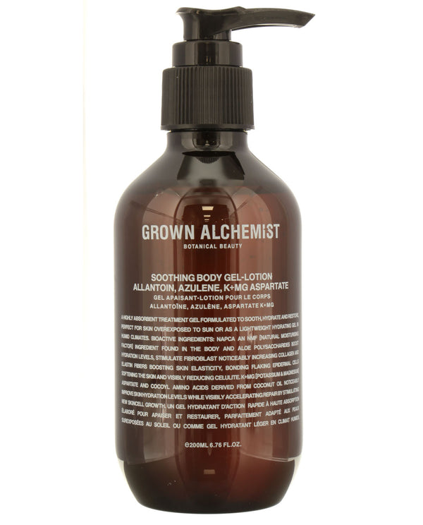 GROWN ALCHEMIST Soothing Body Gel-Lotion: Allantoin, Azulene, K+Mg Aspartate