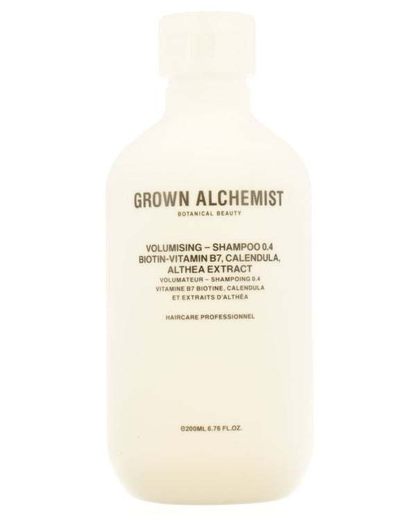 GROWN ALCHEMIST Volumising — Shampoo 0.4: Biotin-Vitamin B7, Calendula, Althea Extract
