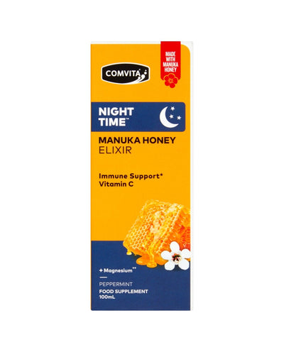 Night Time Manuka Honey Elixir Peppermint