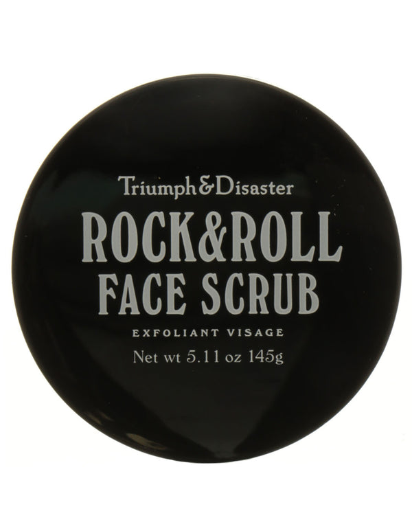 TRIUMPH & DISASTER Rock & Roll Volcanic Ash & Green Clay Face Scrub