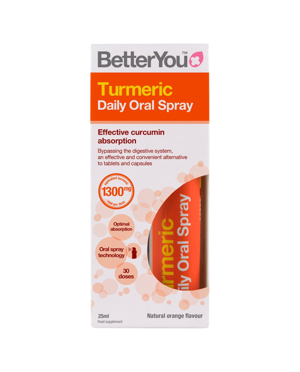 BETTERYOU Turmeric Oral Spray