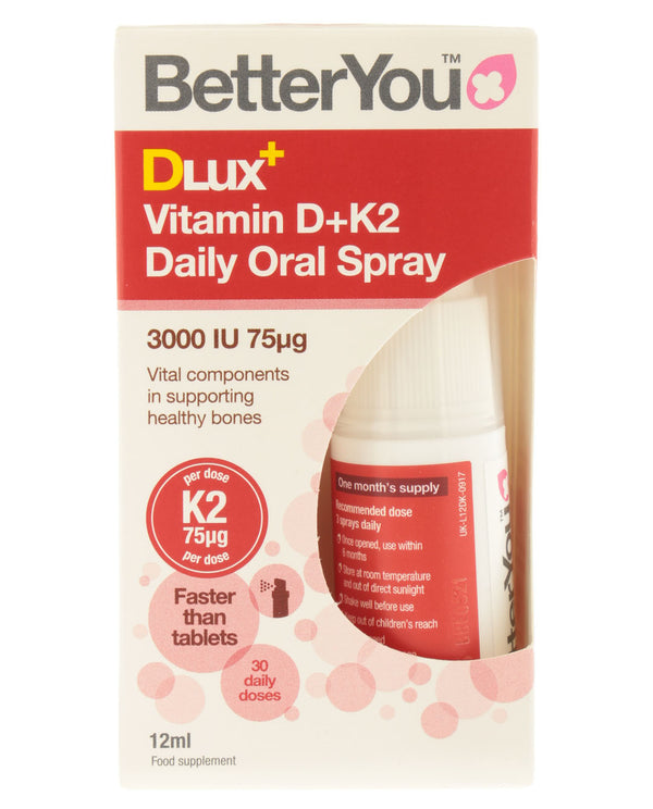 BETTERYOU DLux+ Vitamin D+K2 Oral Spray