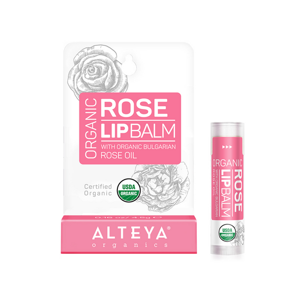 ALTEYA Organics Lip Balm - Rose