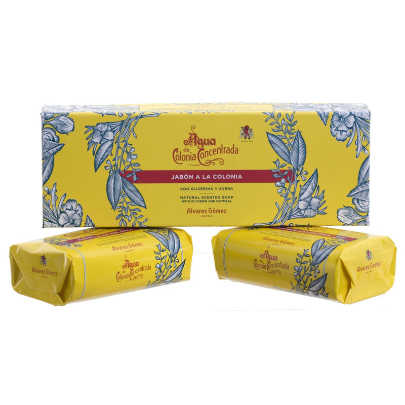 AGUA DE COLONIA Creme Soap Twin Box (2 X 125g)