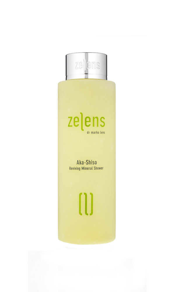 ZELENS Aka Shiso Reviving Mineral Shower Gel