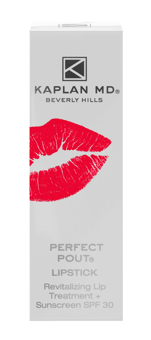 Perfect Pout Lipstick - Revitalizing Lip Treatment + SPF 30 Sunscreen - Sunset