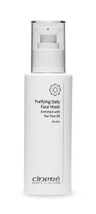 CINERE Purifying Daily Face Wash with Tea Tree Extract for Oily Skin