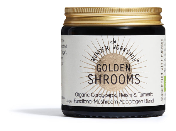 WUNDER WORKSHOP Golden Shrooms Adaptogen Blend