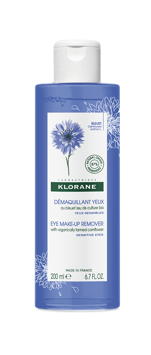 Eye Makeup Remover With Cornflower