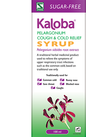 KALOBA Pelargonium Cough & Cold Relief Syrup