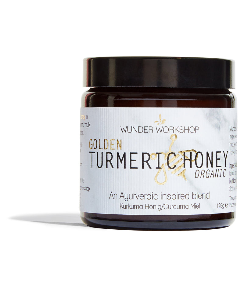WUNDER WORKSHOP Golden Turmeric Honey