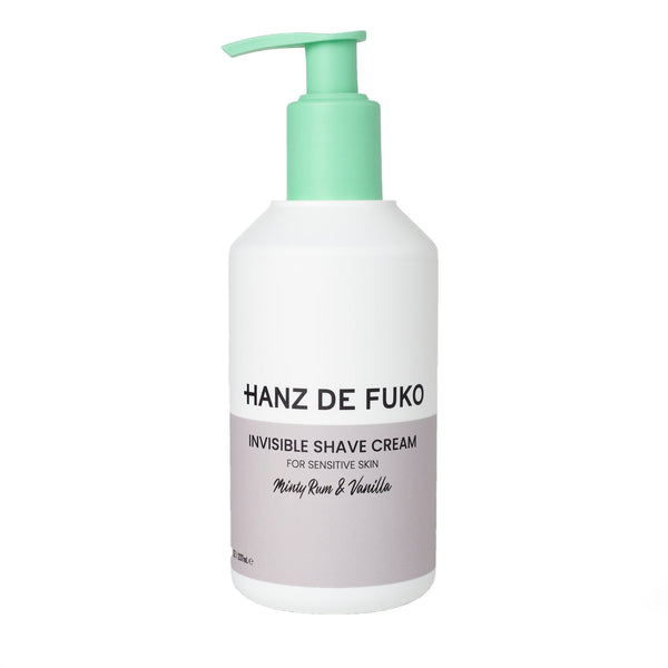 HANZ DE FUKO Invisible Shave Cream