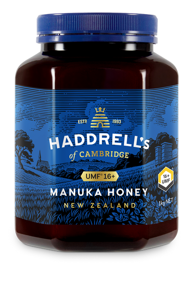 HADDRELL'S OF CAMBRIDGE Manuka Honey UMF 16+