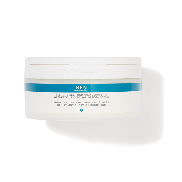 REN CLEAN SKINCARE Atlantic Kelp And Magnesium Salt Anti-Fatigue Exfoliating Body Scrub