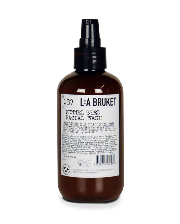 L:A BRUKET Fennel Seed Facial Wash #187