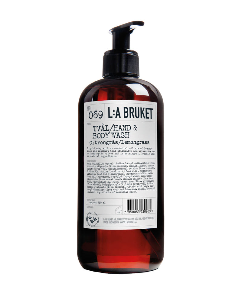 L:A BRUKET Hand & Body Wash Lemongrass