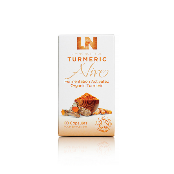 LIVING NUTRITION Turmeric Alive Capsules